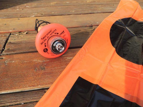 Flara pływka elektroniczna LED SOS