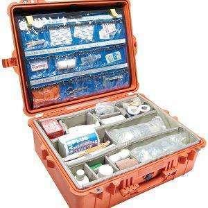 walizka apteczka medyczna wodoodporna peli 1600 ems z organizerem ambulans